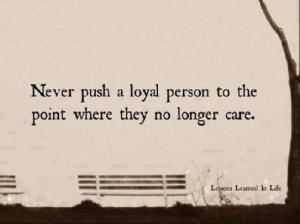 Never Push